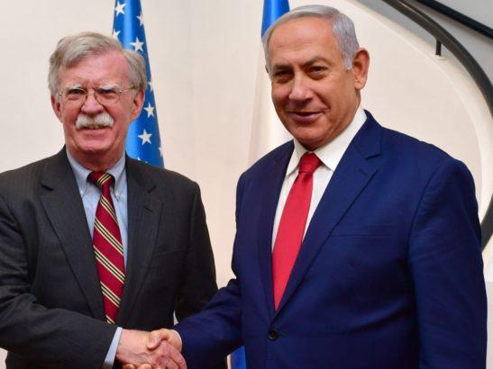 Bolton, in Israel, torpedoes Trump's Syria troop withdrawal