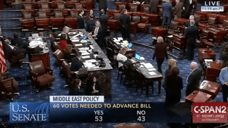 Senate Democrats again block pro-Israel S.1 from going to vote during government shutdown