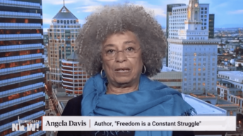 Democracy Now Exclusive: Angela Davis Speaks Out on Palestine After Civil Rights Award Is Revoked