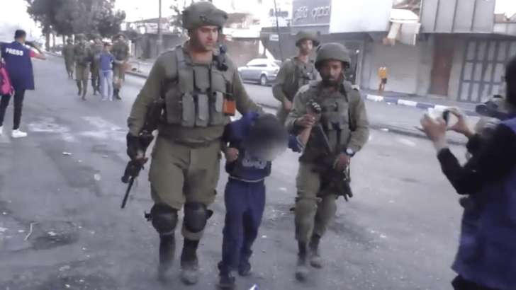 WATCH: Yes, Israel does arrest children