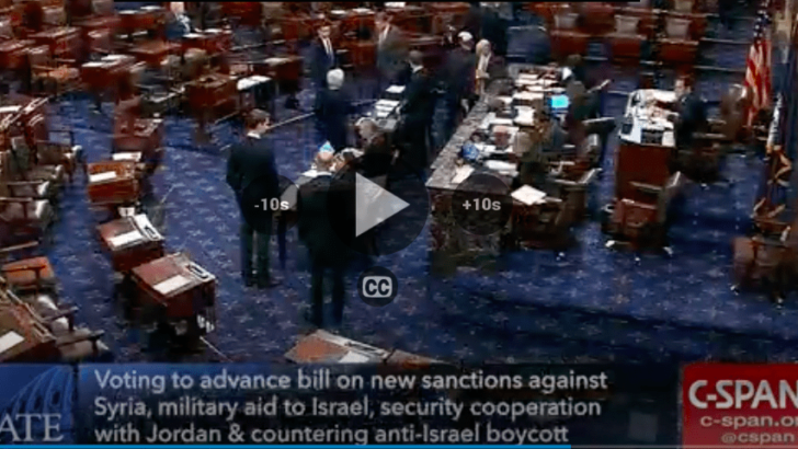 Democrats block vote on S.1 (bill for Israel) to protest inaction on government shutdown