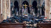 Israeli rabbi: Notre Dame fire divine retribution? Church-burning can be ok