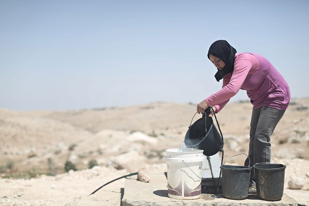 About a third of the Jewish state's water comes from the occupied West Bank