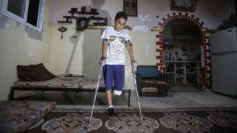 Hundreds of Gaza protesters shot by Israeli forces risk limb amputation