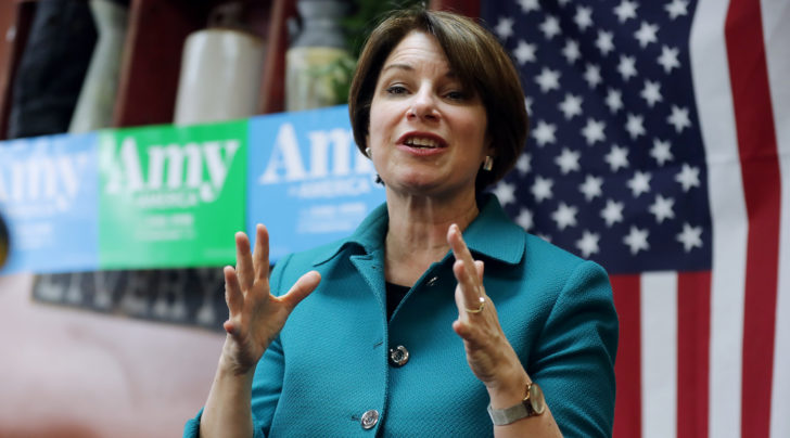 JTA: Klobuchar's meeting with Jewish Dem funders, Dear Abby grandson