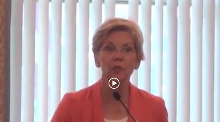 WATCH: Elizabeth Warren supports Israel during its 2014 invasion of Gaza