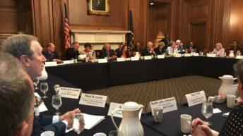 US Senators meet with Jewish leaders in semi-secret annual event