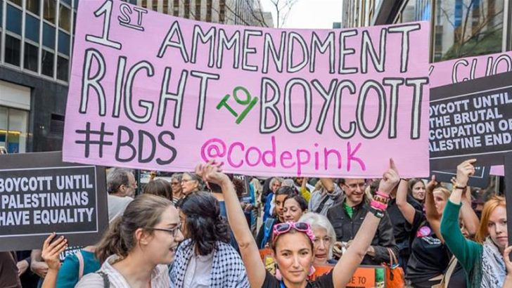 Which way did your Congressperson vote on the anti-boycott resolution?