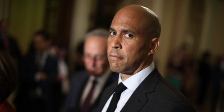 Cory Booker's Foreign Policy Echoes His Biggest Donors