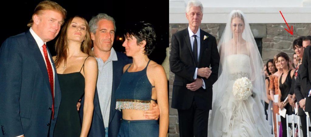 Epstein, Ghislaine Maxwell, Trump, Clinton