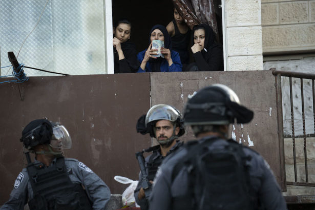In East Jerusalem, nightly raids leave Palestinian neighborhood reeling