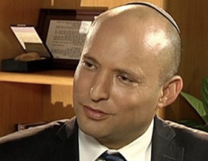 Education Minister Naftali Bennet