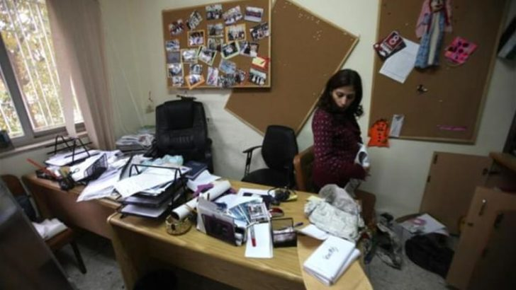 Israeli army raids Palestinian NGO's office, a direct attack on human rights