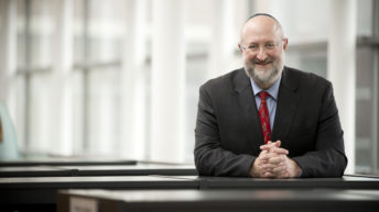 Will pro-Israel rabbi heading top theology center change its direction?