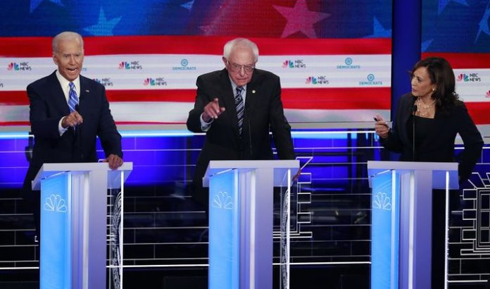 Dem candidates mostly turn a blind eye to Israeli atrocities and Palestinian rights