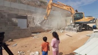 WATCH: Palestinian father forced to demolish home in Jerusalem