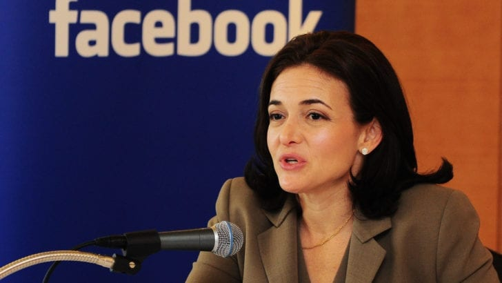 Facebook COO ignores Palestinian complaints of censorship, pledges $2.5 mill to Israel advocacy group