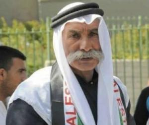 Sheikh Sayah Abu Madhim, Bedouin leader in al Araqib, which faces demolition