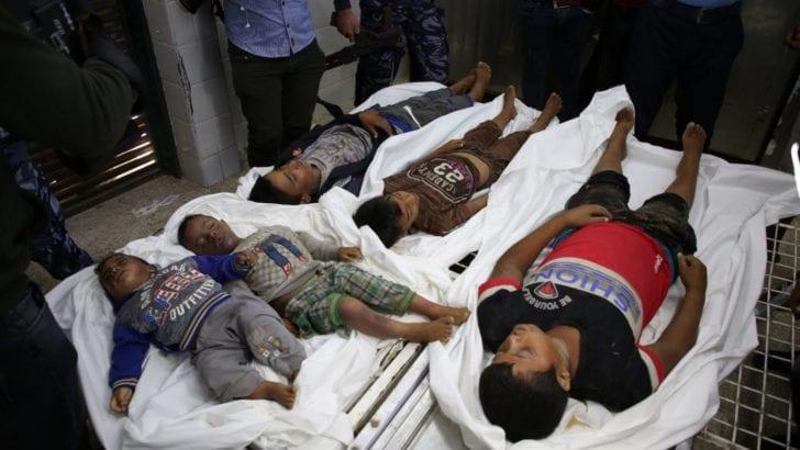 One-third of Gazans slain by Israel were women & children