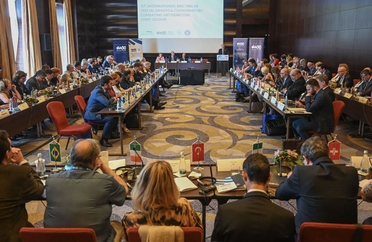The World Jewish Congress International Meeting of Special Envoys and Coordinators Combating Antisemitism (SECCA), Bucharest, June 17, 2019.