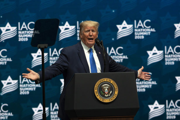 """Alternative facts"" abound in Trump's Israeli-American Council speech"