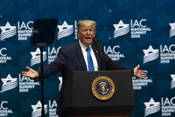 """Alternative facts"" abound in Trump's Israeli-American Council speech"