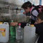 The Palestinian Water Authority reported that 95 percent of drinking water in the Gaza Strip does not meet World Health Organization (WHO) standards.