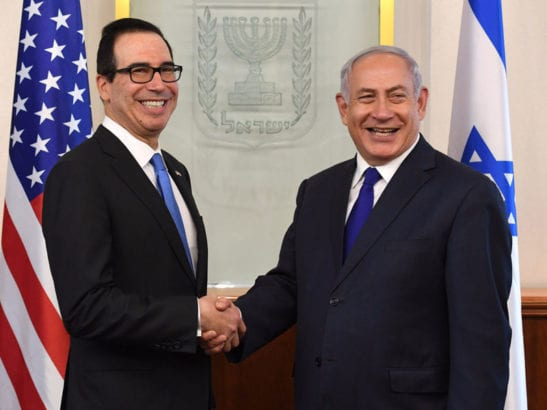 Pro-Israel Treasury Secretary Steve Mnuchin censors Iranian news website