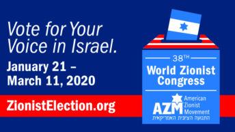 Voting for World Zionist Congress heats up