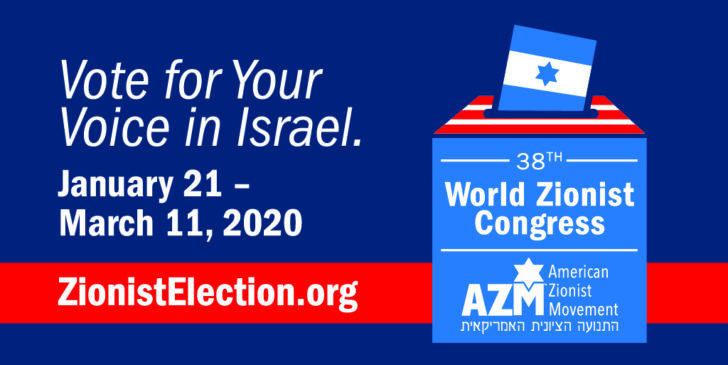 Voting for World Zionist Congress heats up