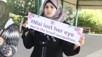No Accident: Israel Targets Gazan Protestors' Eyes