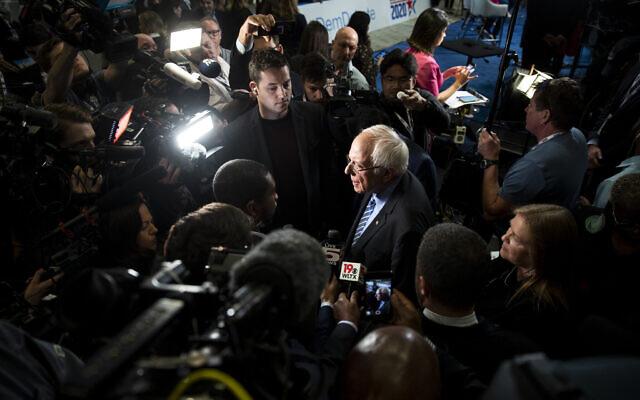 Bernie vs AIPAC: As Sanders Surges, pro-Israel Democrats Scramble for Backup Plan