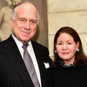 Jo Carole and Ron Lauder, billionaire donors