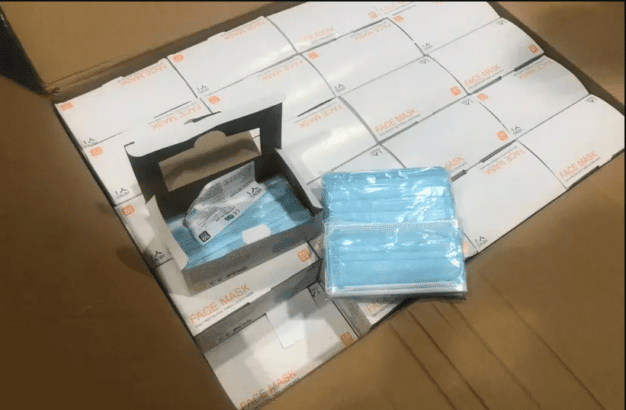 Did the US send a million medical masks to the Israeli military?