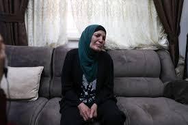 Image: Mother of Eyad Hallaq (Ha'aretz)
