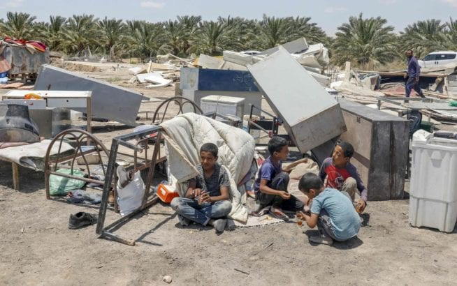 Israel breaks promise, demolishes homes of 65 Palestinians
