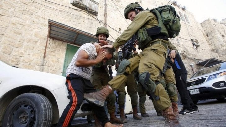 Israeli soldiers assaulted Palestinian, mocking and beating him severely