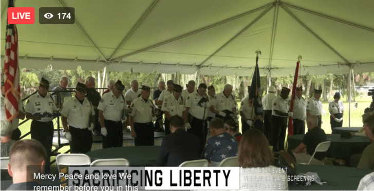 Live program with USS Liberty survivors & families