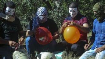 Gaza incendiary balloons are 'distress signals' against Israel's cruel blockade