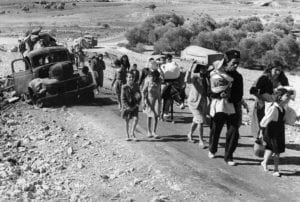 the nakba: 750,000 Palestinians sent away from their homes to become refugees as Israel takes over their land