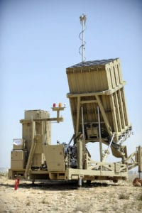 Iron Dome battery in Ashkelon