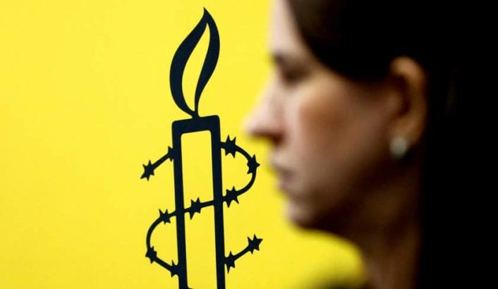 Amnesty International Slams Reported U.S. Push to Label It Antisemitic