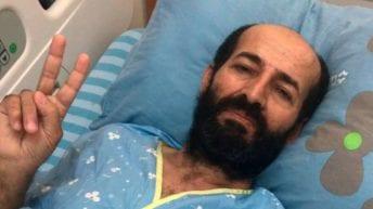 Palestinian on hunger strike in Israeli jail 'on verge of death'