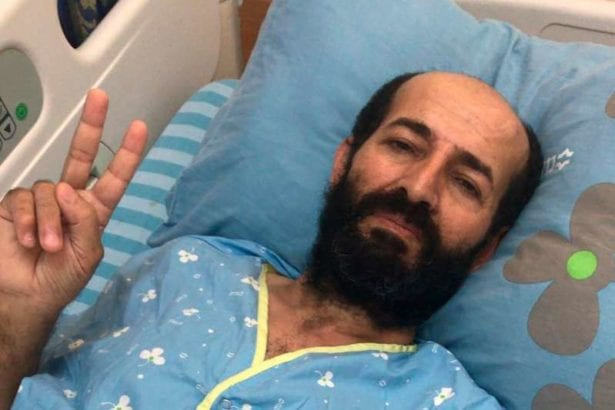 Palestinian on hunger strike in Israeli jail 'on verge of death'
