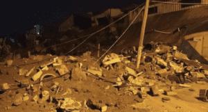 israel airstrike damages home in gaza