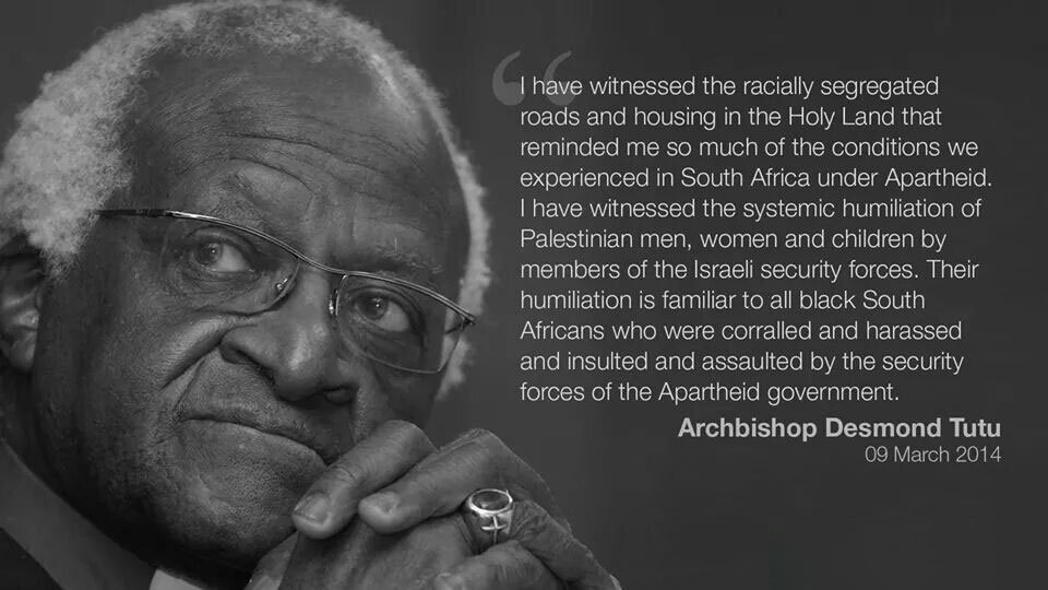 Desmond Tutu with quote