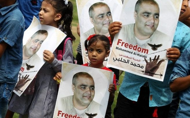 "The bizarre case of Mohammad El-Halabi displays Israeli ""justice"""