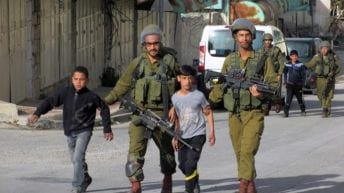 Israel detains, interrogates four Palestinian children, ages 9-10