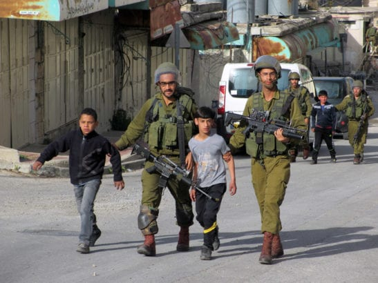 Israel detains, interrogates four Palestinian children, ages 9-10