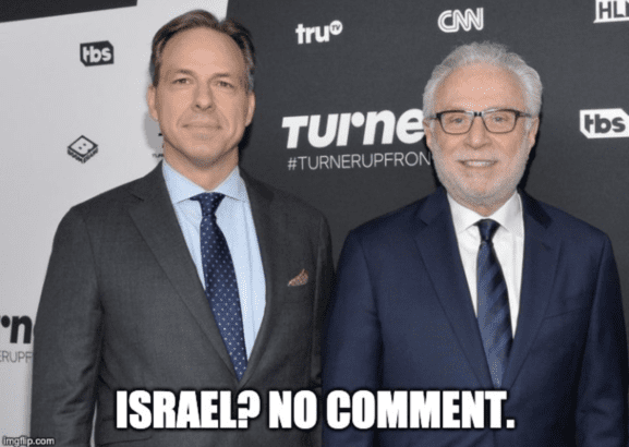 "Media bias: CNN and NPR are afraid to say ""Apartheid"" out loud"
